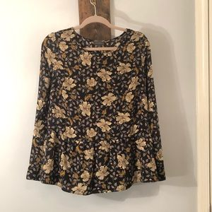 Long Sleeve Blouse by The Limited, Size Medium